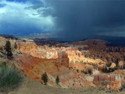Storm Over Bryce Canyon by Maureen Dean
