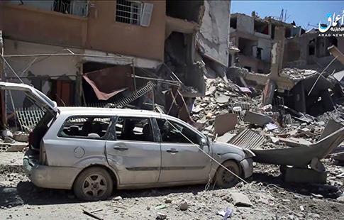 Raqqa : Daech le dos au mur