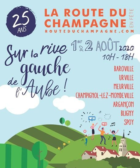 La Route du Champagne chez La Grand-Mère Maria