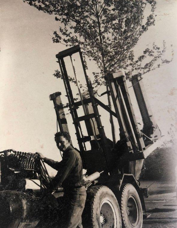 John Eberhard moving tree