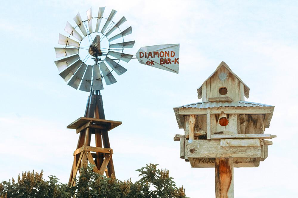 off-grid windmill