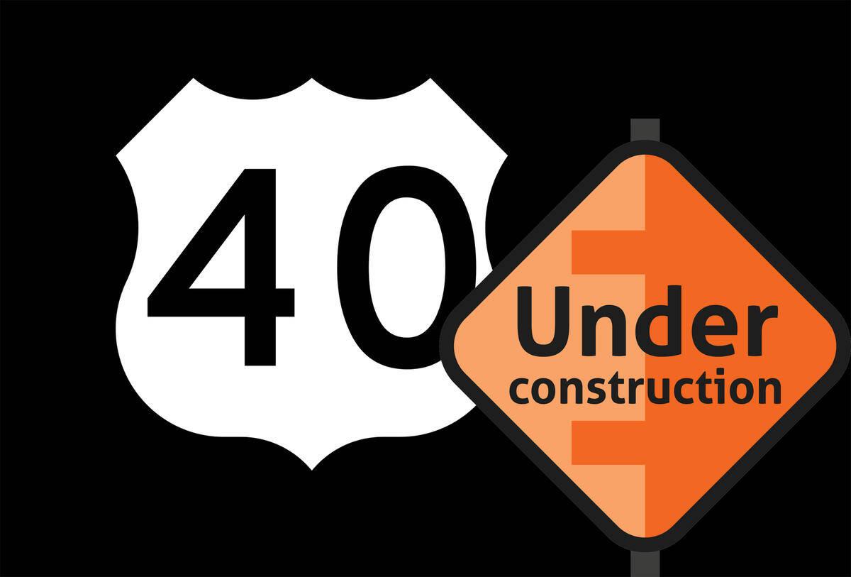 US 40 Construction