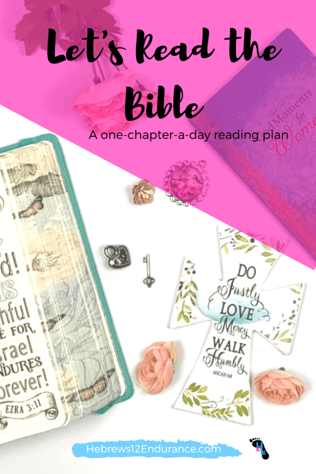 Let's Read the Bible challenge