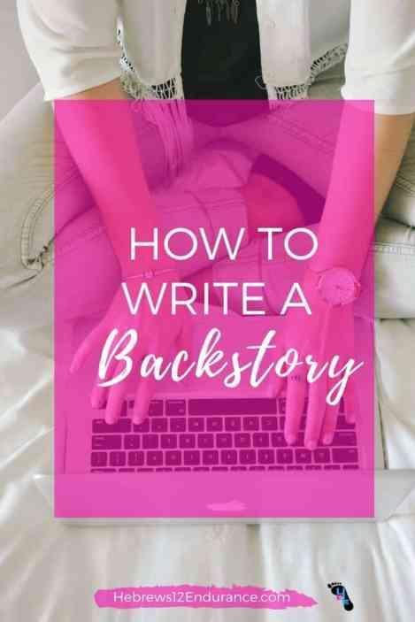 how to write a backstory
