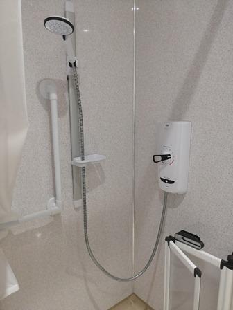 Wet room Shower in Uist