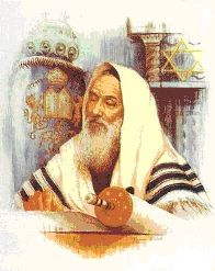 Rabbi Studying