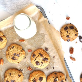 Chocolate Chunk Pecan Cookies