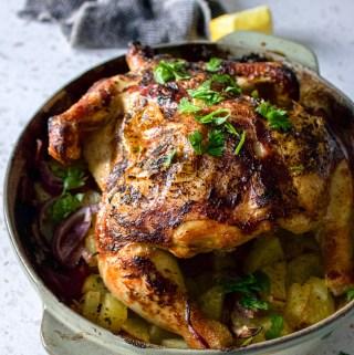 Yogurt Roast Chicken