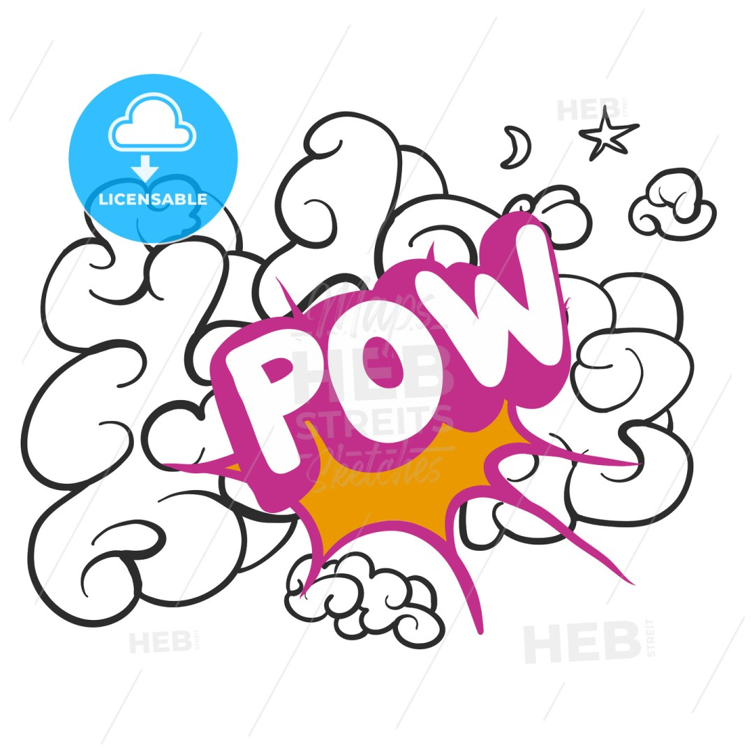 POW Shoot on Cloud Sketch