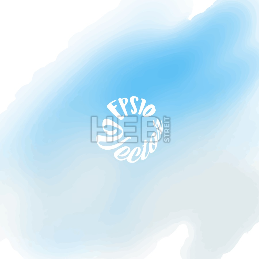 Hand painted vector Watercolor Background