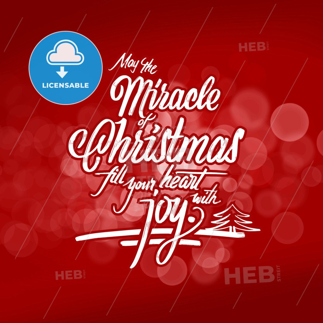 Christmas wishes lettering