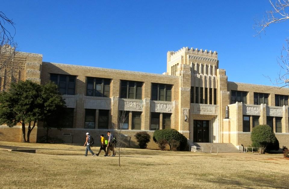 William Howard Taft Junior High School in Oklahoma City.