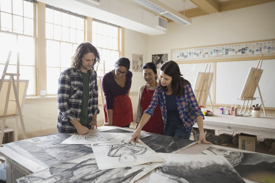 creative arts degrees