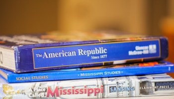 In the 2015-16 school year, none of the social studies textbooks listed for use in the state's fourth grade classroom was published before 2005.