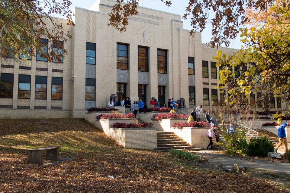 Daniel Webster High School serves nearly 500 students in Tulsa's Westside neighborhood.