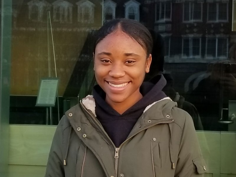 Tiana Young is a freshman at Rensselaer Polytechnic Institute, where a racist Facebook post from a student in the alt-right group Turning Point left the African-American community shaken and frustrated by the school's lack of public response.