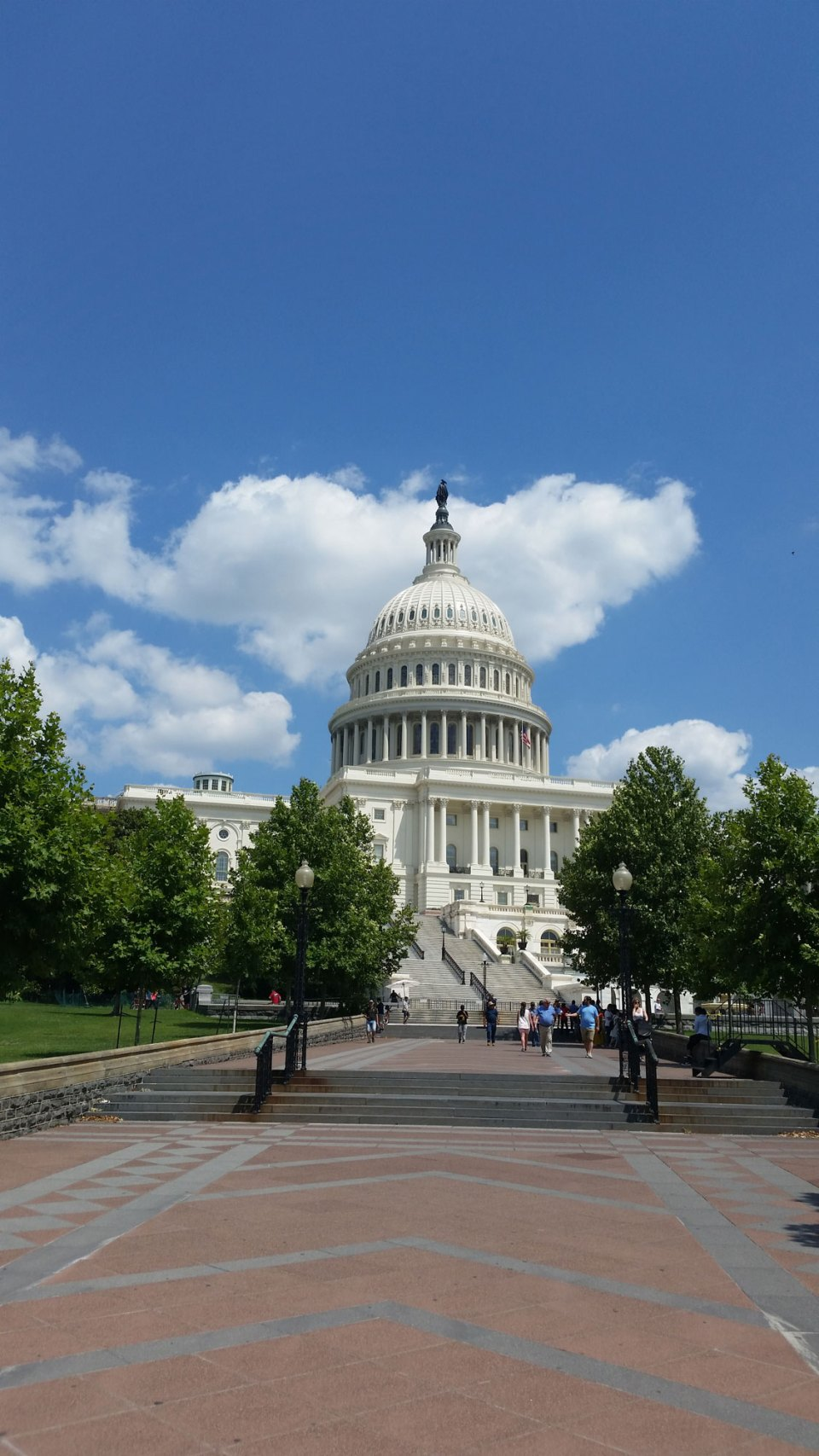 The United States Capitol.