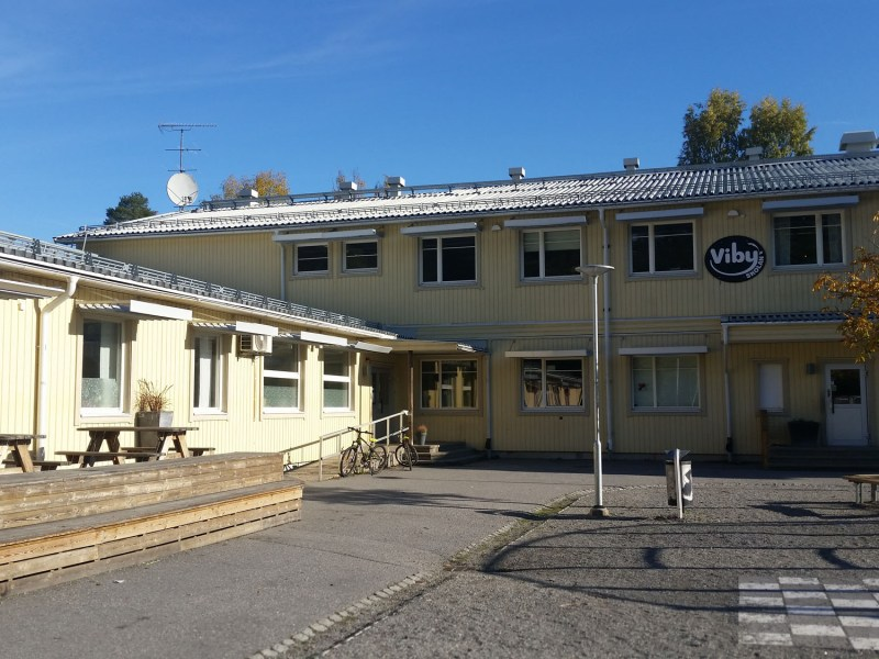 Vibyskolan, a small, nonprofit free school that serves kindergarten through ninth grade, is located in a wealthy area just north of Stockholm, where free schools are particularly popular.