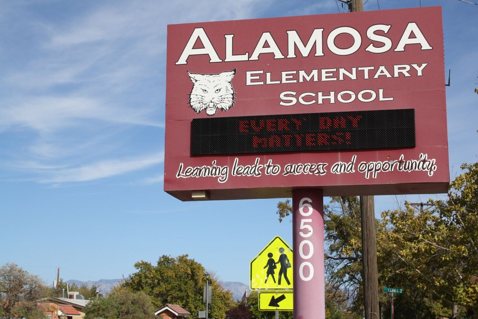 "Alamosa Elementary School in Albuquerque emphasizes that ""every day matters"" as it aims to reduce chronic absenteeism."