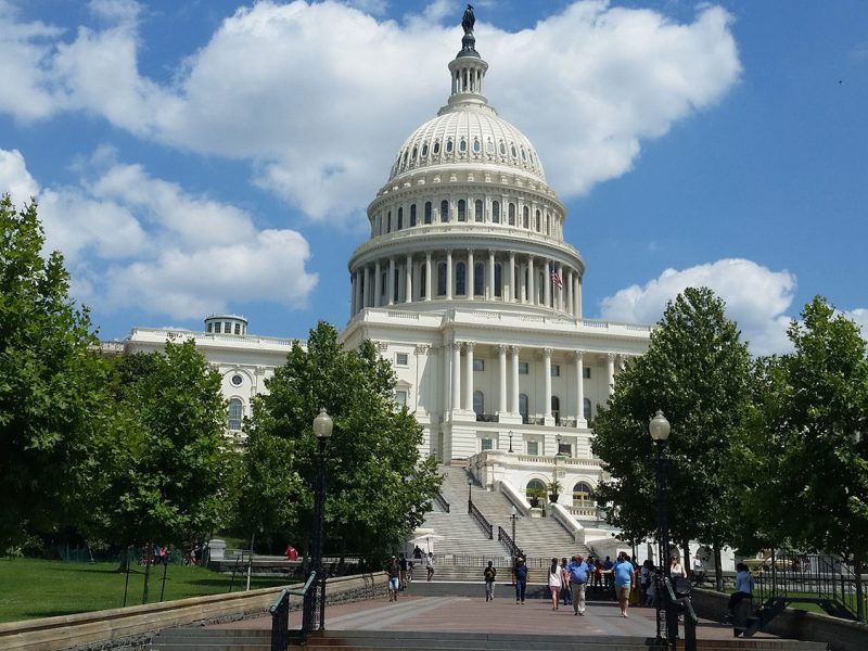 The United States Capitol. A House bill to revamp the Higher Education Act has moved out of committee for debate, while the Senate is still discussing reform ideas in committee.