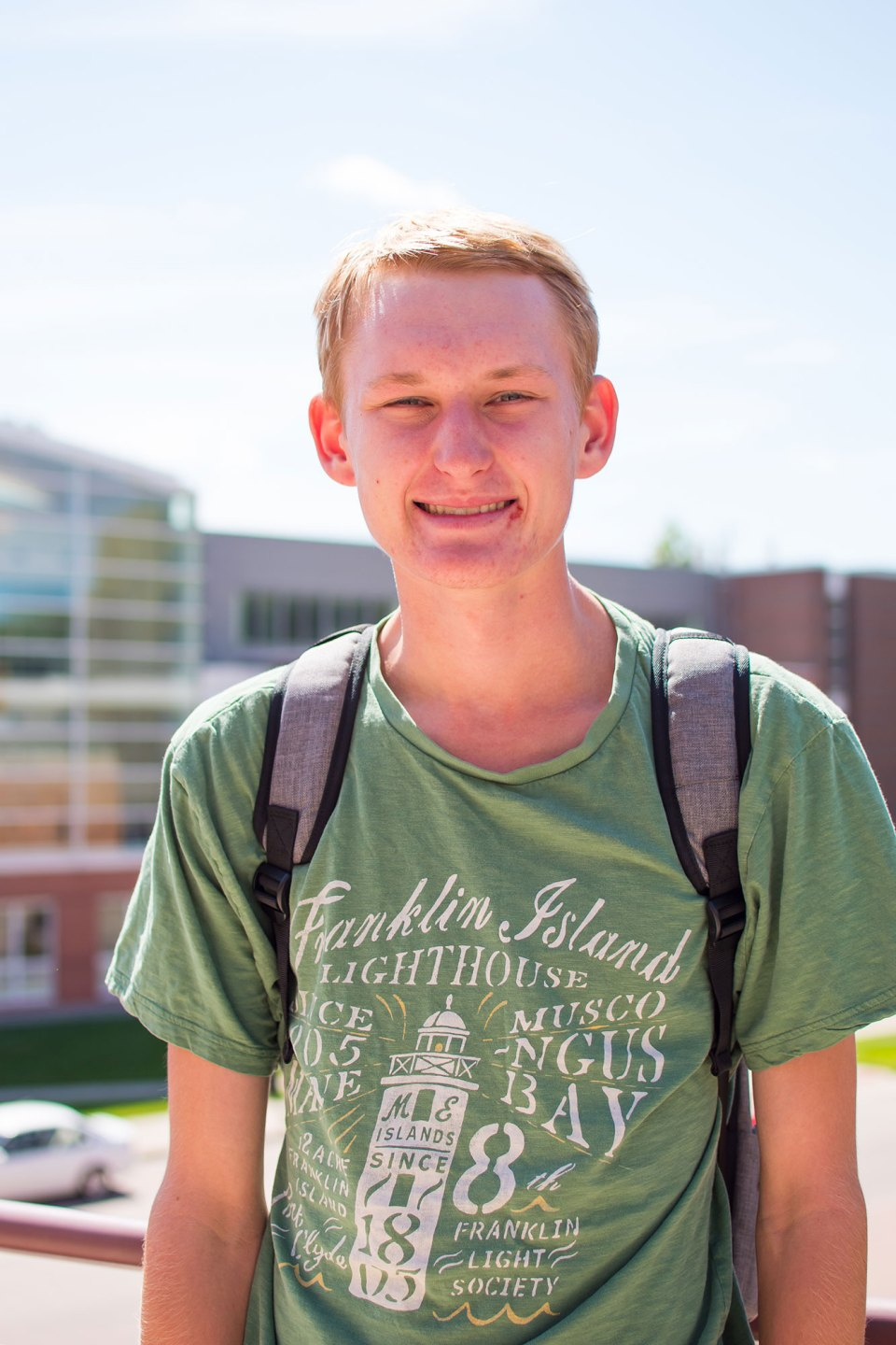 "Bowen Mince, a first-year student at Grinnell College, finds it stressful to be thinking about careers before he's even started classes. But over time, he says, ""I think this will be a big help."""