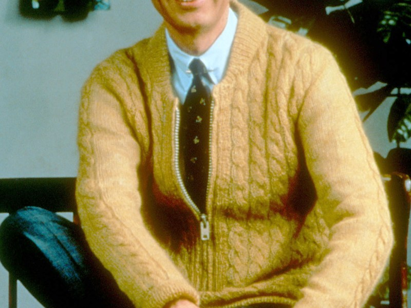 Fred Rogers: March 20, 1928 - Feb. 27, 2003.