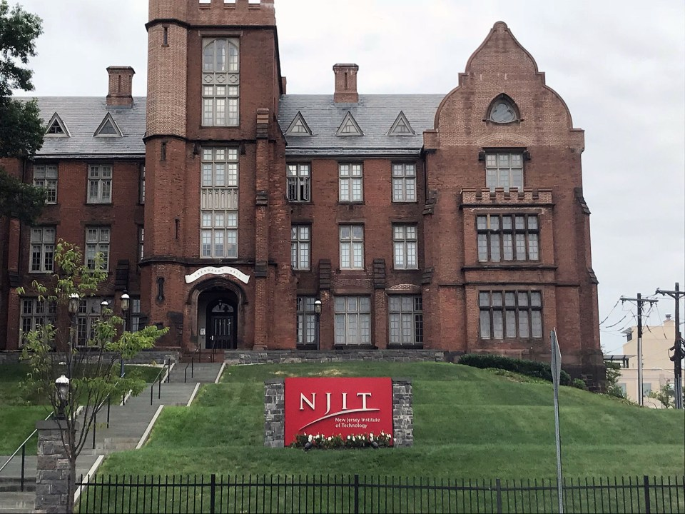 The main building on NJIT's Newark campus.