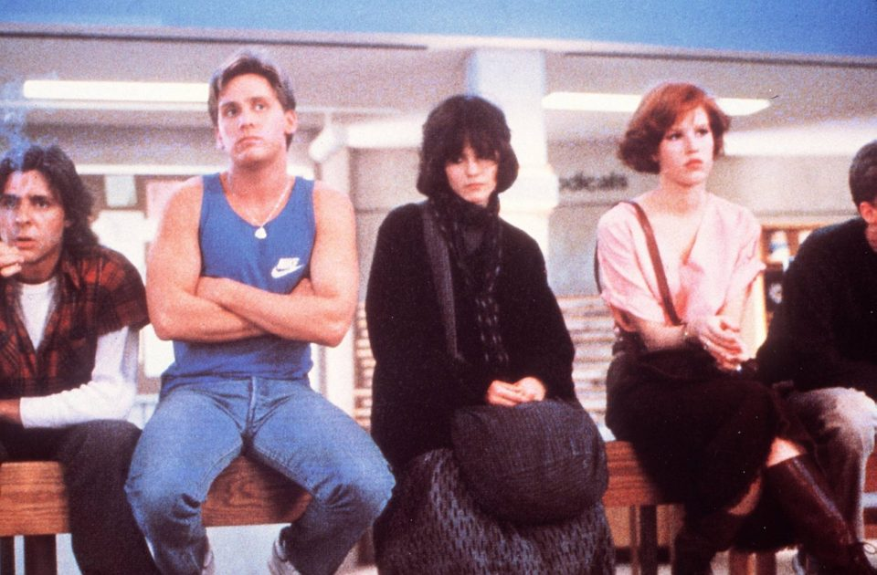 """Cast of 1985 coming-of-age movie ""The Breakfast Club."""
