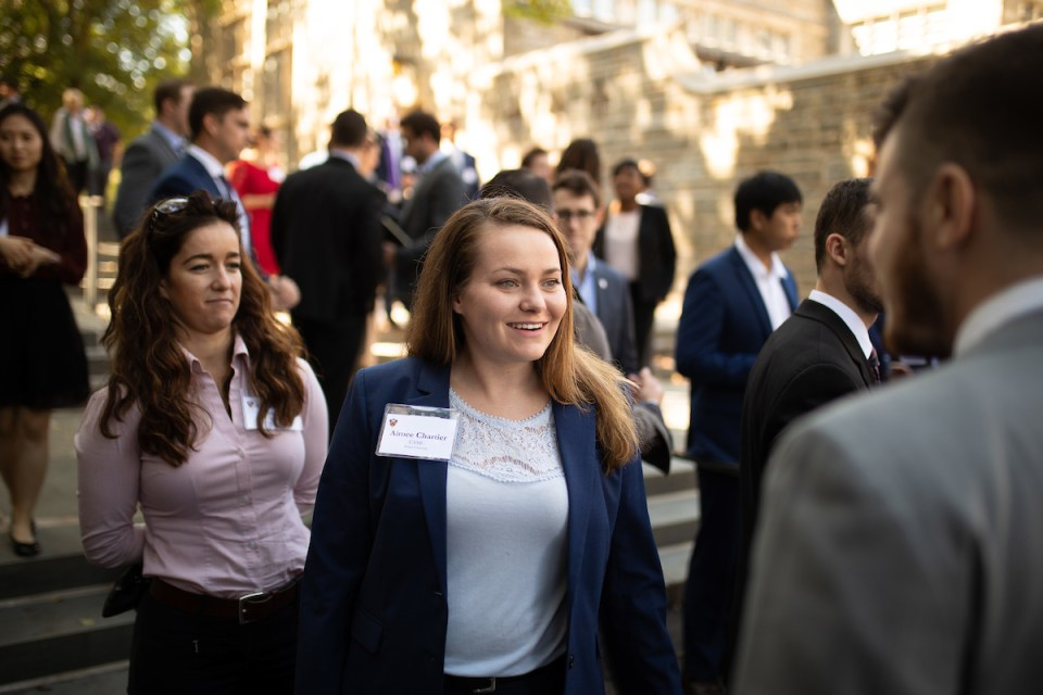 Aimee Chartier served four years in the U.S. Marine Corps as an intelligence analyst, and is now a sophomore at Brown University, studying political science.