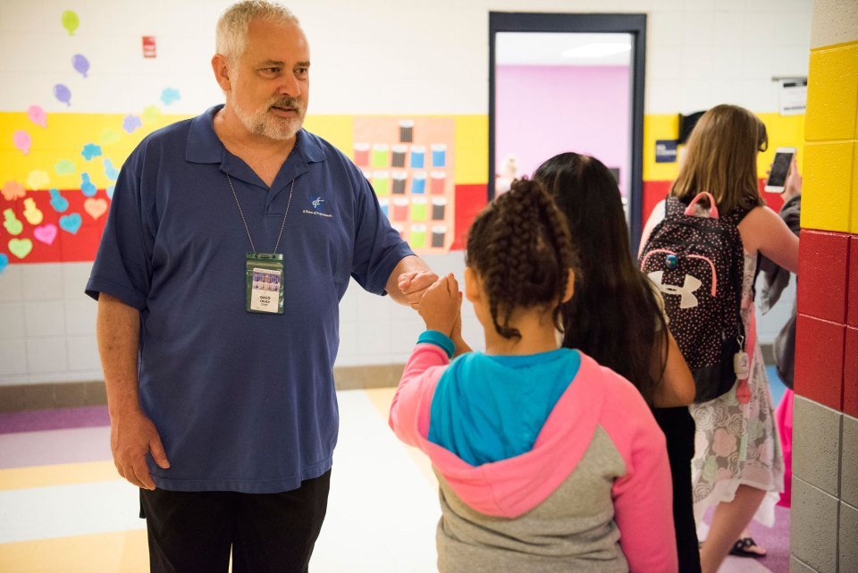 """Greg Cruey says his students are realistic about their lives. """"For many of them, the horizon is much closer than 'When I grow up.'"""""""
