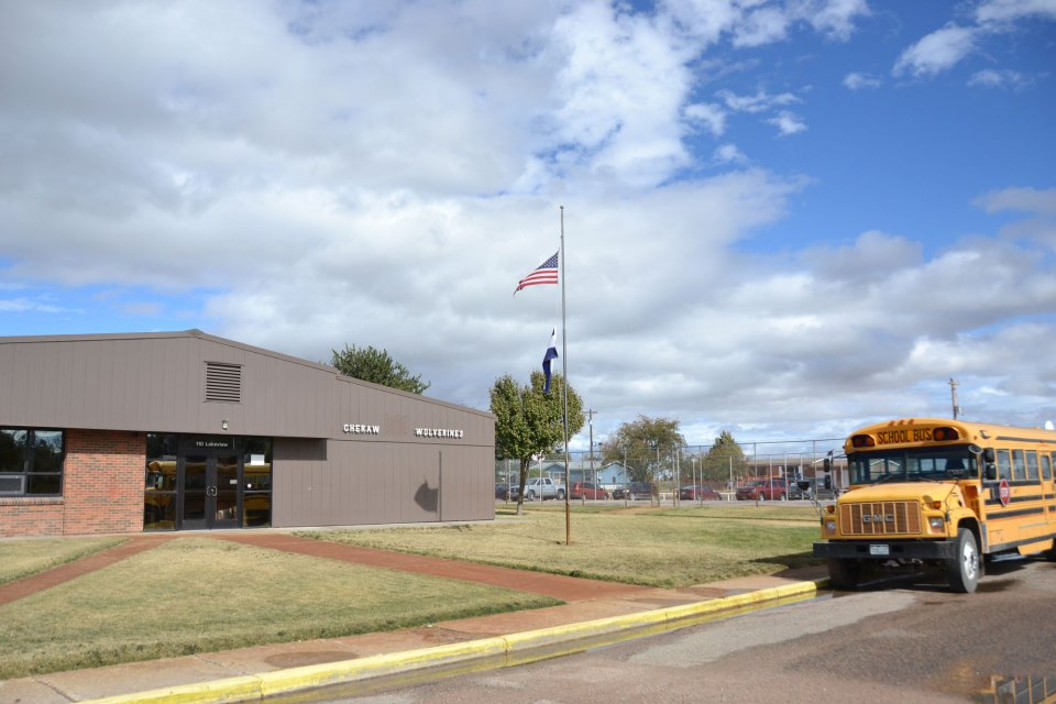 The school district of Cheraw, Colorado, educates 225 students, roughly half of whom transfer in from other districts through the state's open-enrollment policy.