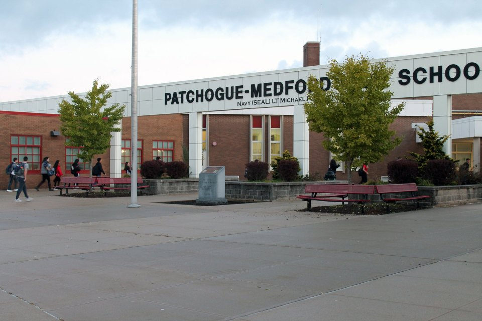 Patchogue-Medford High School officials have tried to embrace immigrant students and shake the district's racist image, earned after a group of native-born students who attended the school murdered an Ecuadorean immigrant 10 years ago.