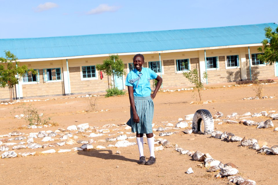 Martha John Korok is one of 352 students at Morneau Shepell Secondary School for Girls, a boarding school for Kakuma refugees that opened in 2014. She hopes the advantages Morneau Shepell has over the day schools in the camp will help her with her dream to become a doctor.