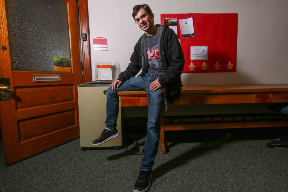 "Christopher Bunn was among the roughly 10 percent of students who arrive at Chestnut Hill College without having declared a major. He considered one, picked another, then switched, forcing him to take a heavy course load to keep on schedule and avoid staying longer than four years. ""I was never the biggest fan of that."""
