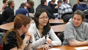 Students at Purdue University. File photo. (AP Photo/Journal & Courier, John Terhune)