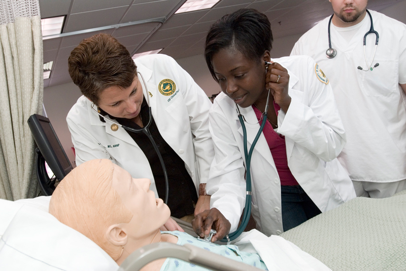 Students at the University of South Florida College of Nursing. (Photo: University of South Florida)