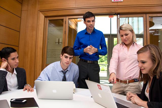 Students in the Fullbridge Program, which charges them for business knowledge critics of colleges say they ought to get there. (Photo: The Fullbridge Program)
