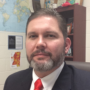"""Enterprise Attendance Center Principal Shannon Eubanks says the suggestion to drop Mississippi's standards is """"political pandering."""". (Photo courtesy of Shannon Eubanks)"""