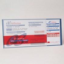Invitación billete de avión (cosasdeboda.com)