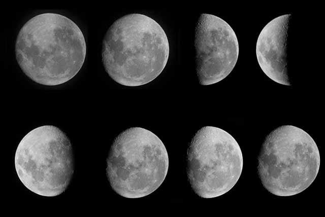 Magia lunare: fasi della luna