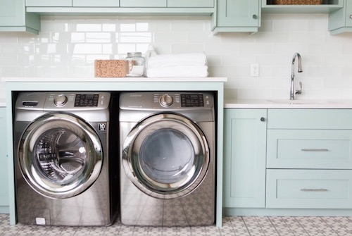 sustainable laundry room