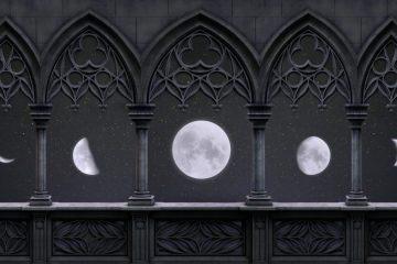 Une image contenant sombre, nuit, lampe, autel Description générée automatiquement