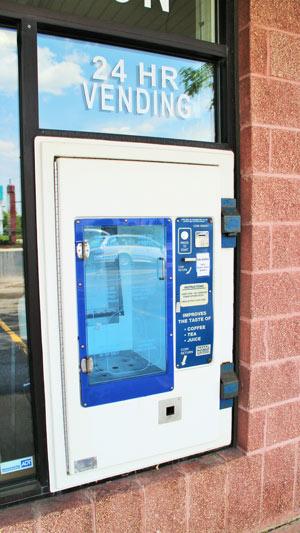 Home Environment Center Rockford 24 Hour Vending Machine