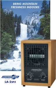 Lightening Air: Air Purifier and Ionizer