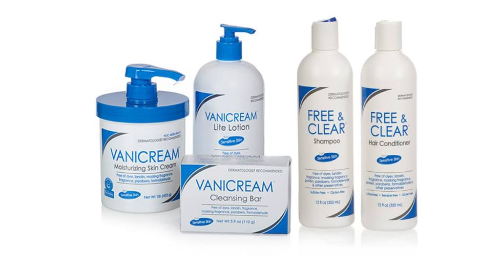 Vanicream Sensitive Skin Care Products