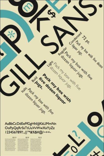 gill-sans-typespecimen-poster