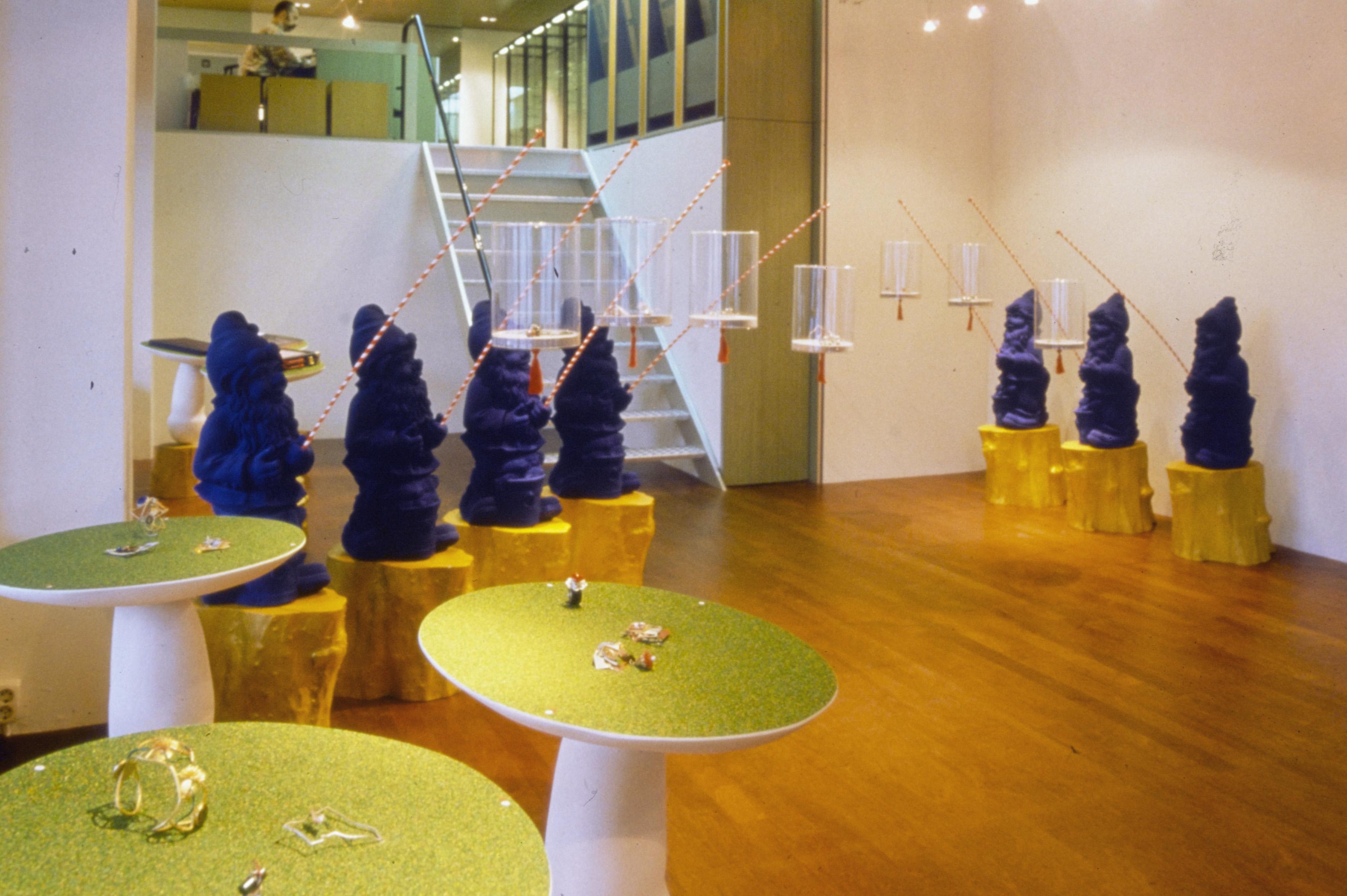 Marion Herbst, Galerie Ra, Vijzelstraat Amsterdam
