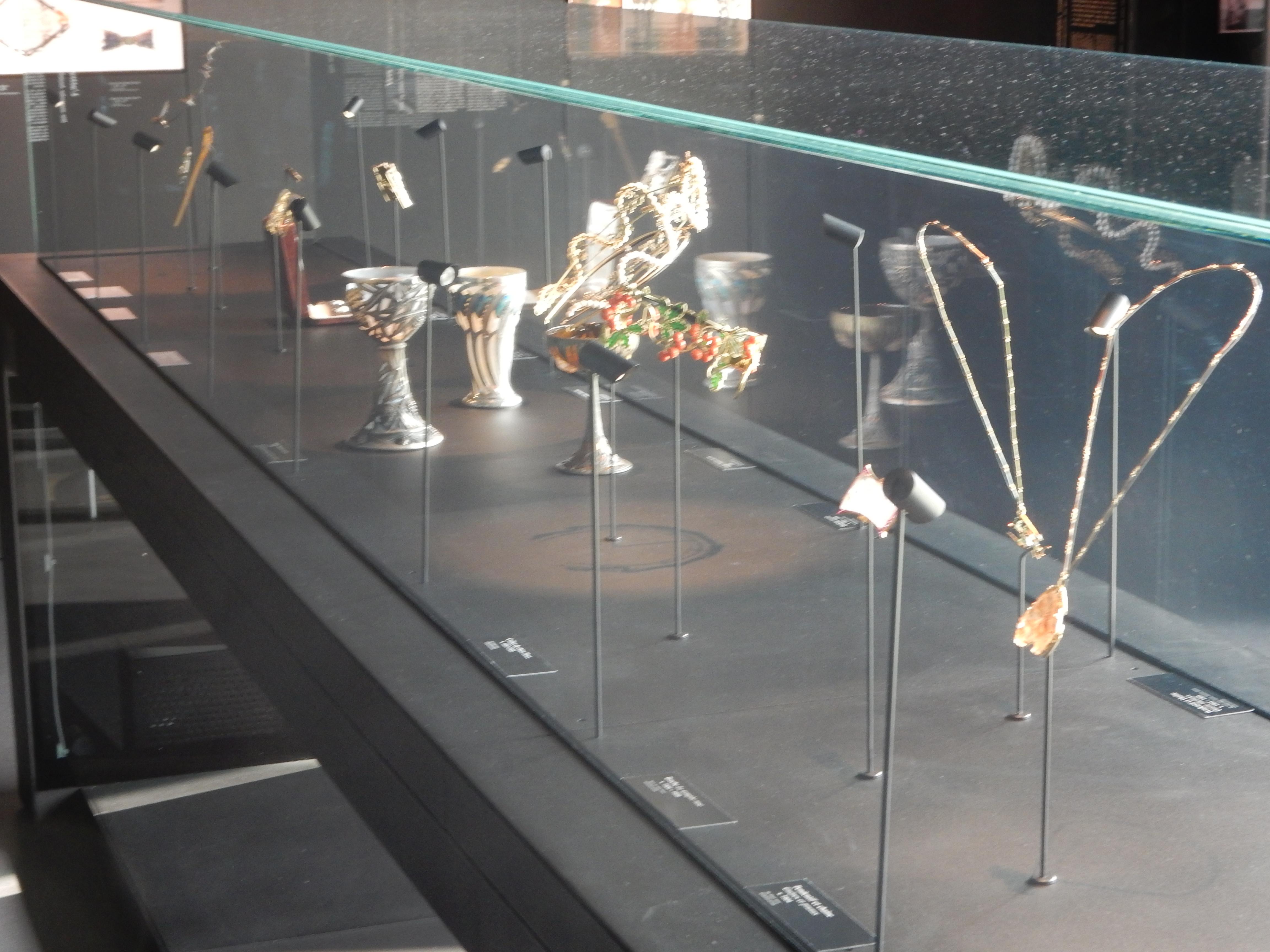 Musée Lalique, Wingen-sur-Moder, 2016, vitrine