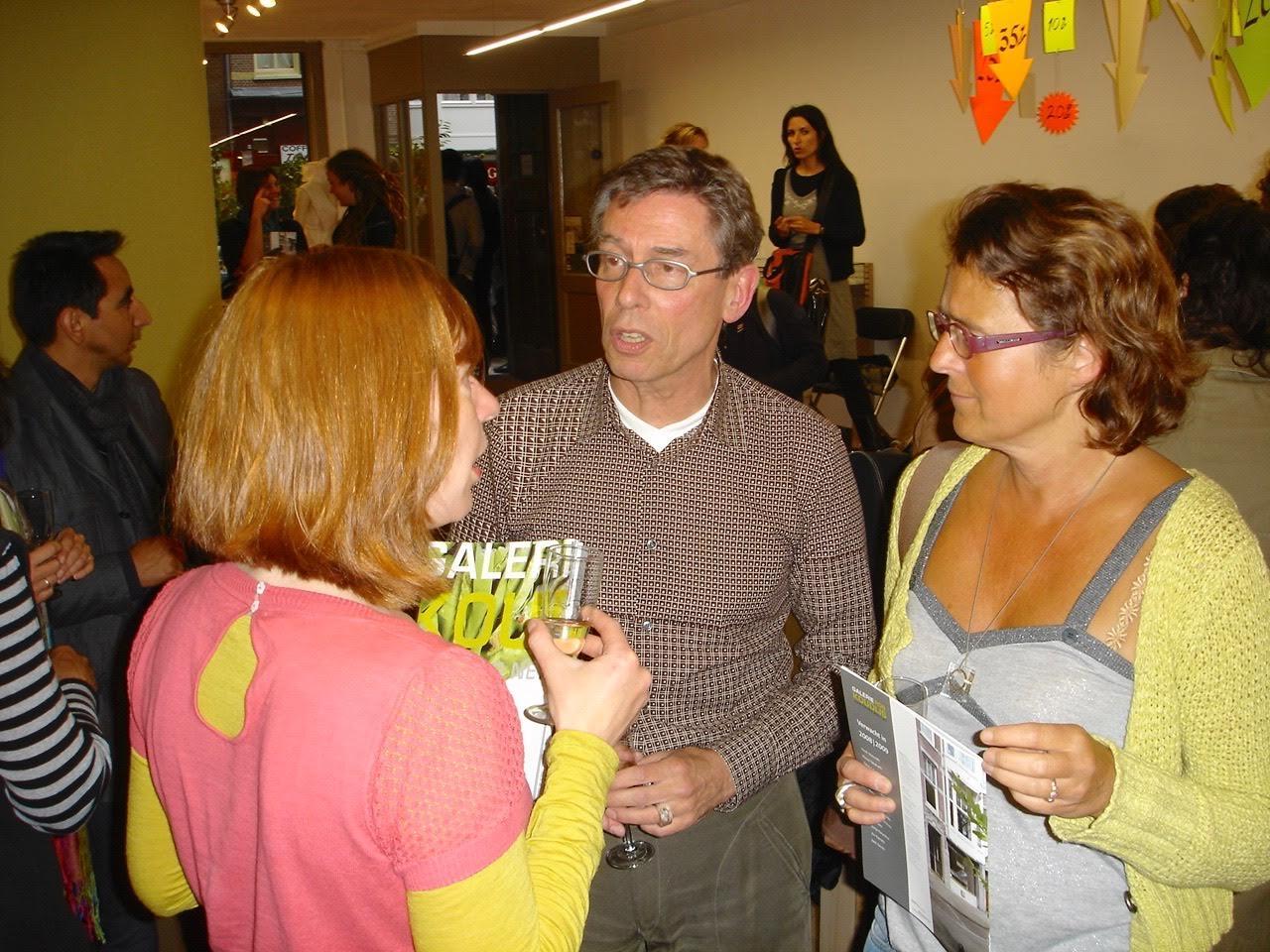 Presentatie Magazine Galerie Rob Koudijs 1, 2008, Jantje Fleischhut, Rob Koudijs, Liesbeth den Besten