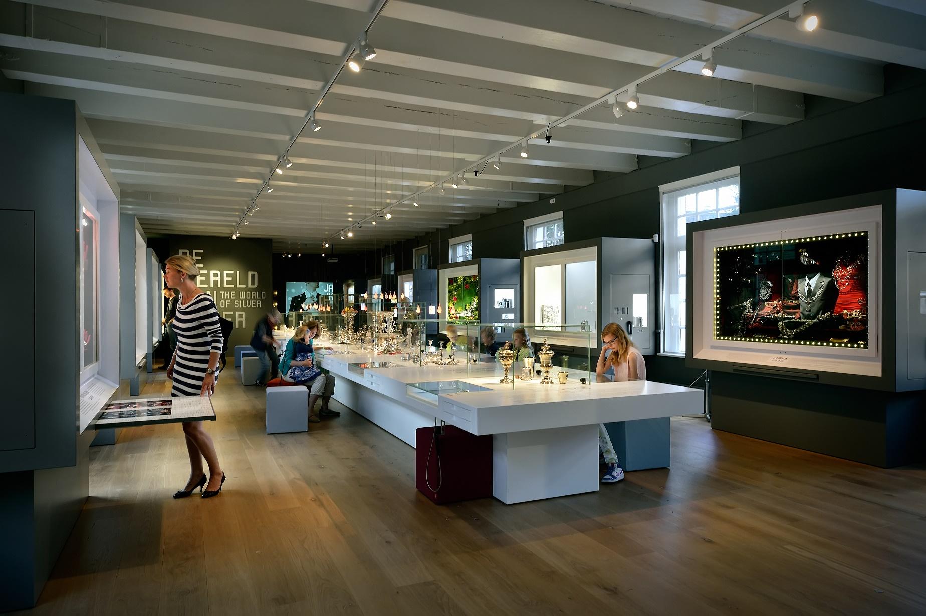 Zilvermuseum Schoonhoven, vaste opstelling